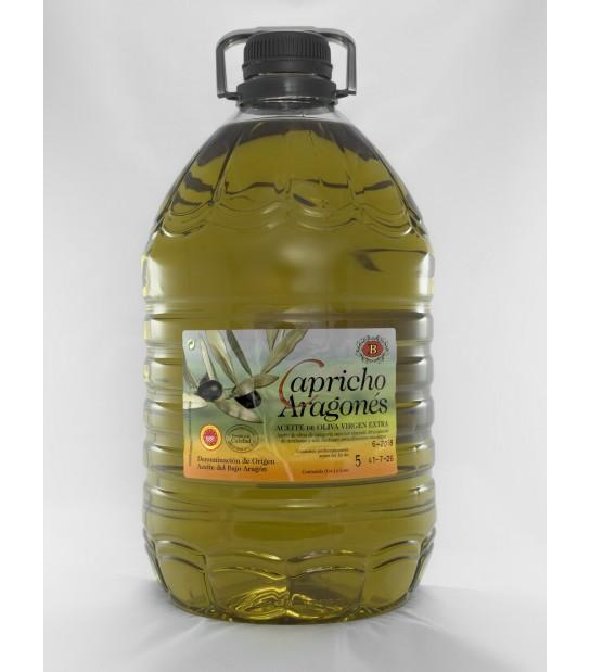 4 bouteilles de 5 litres de Capricho Aragonés