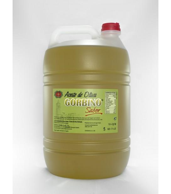 4 bouteilles de 5 litres de saveur intense Gorbino