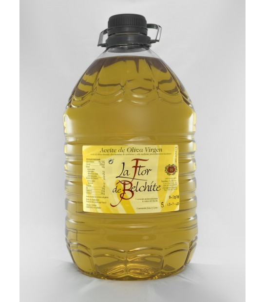 1 package of 4 5-liter bottles Flor de Belchite