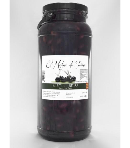 Aceituna negra Empeltre 900 gr (6 botes)