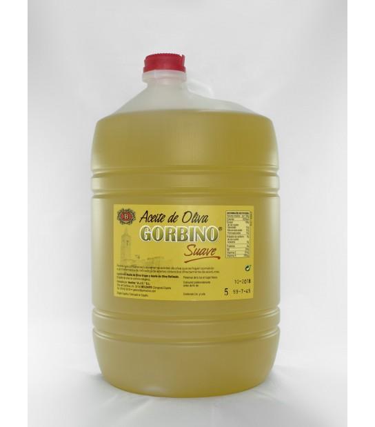 1 package of 4 5-liter bottles Gorbino mild flavor