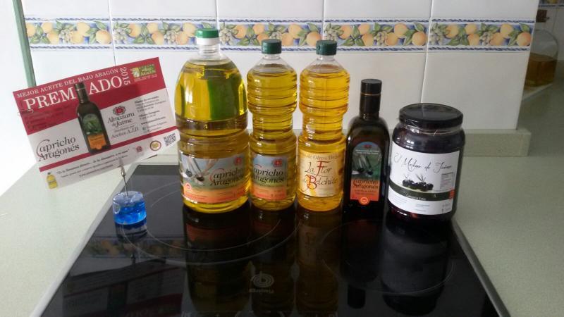 Aceite de oliva Bajo Aragón