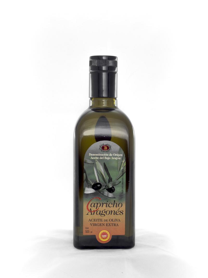 Botella aceite de oliva