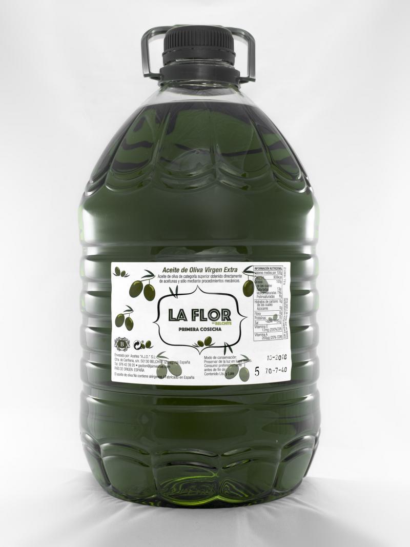 Garrafa de aceite de oliva